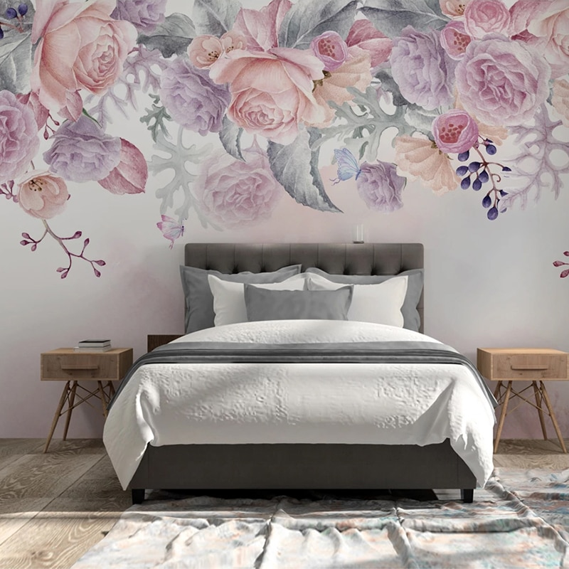 custom photo wall mural 3d wallpaper animals peacock oil painting 3d wall murals living room tv background wall mural wallpapers Custom Photo Mural 3D Rose Flowers Watercolor Hand Painted Wall Murals Wallpaper Living Room Bedroom Background Wall Painting 3D