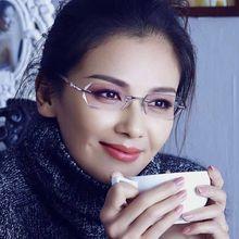 Anti-luce blu ad alta definizione presbiopia occhiali femminile stelle con la stessa autentico anti-fatica anti-radiazioni occhiali fema