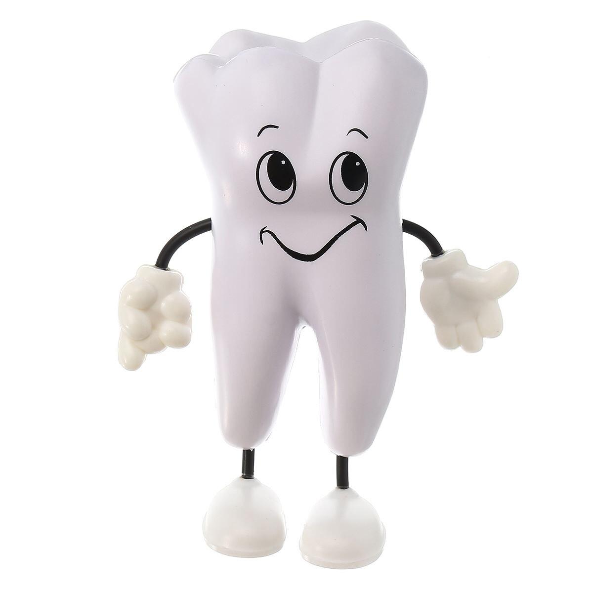 1 шт. игрушка для выдавливания зубов из мягкой пенополиуретановой пены в форме зуба Kawaii стоматологическая клиника стоматология рекламный товар подарок для стоматолога