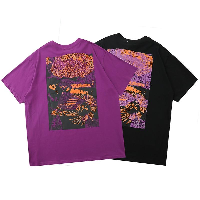 20ss CAVEMPT camiseta hombres mujeres alta calidad impreso lavado Do Old C.E Cav Empt Tops camisetas streatwear hip hop CAVEMPT camiseta
