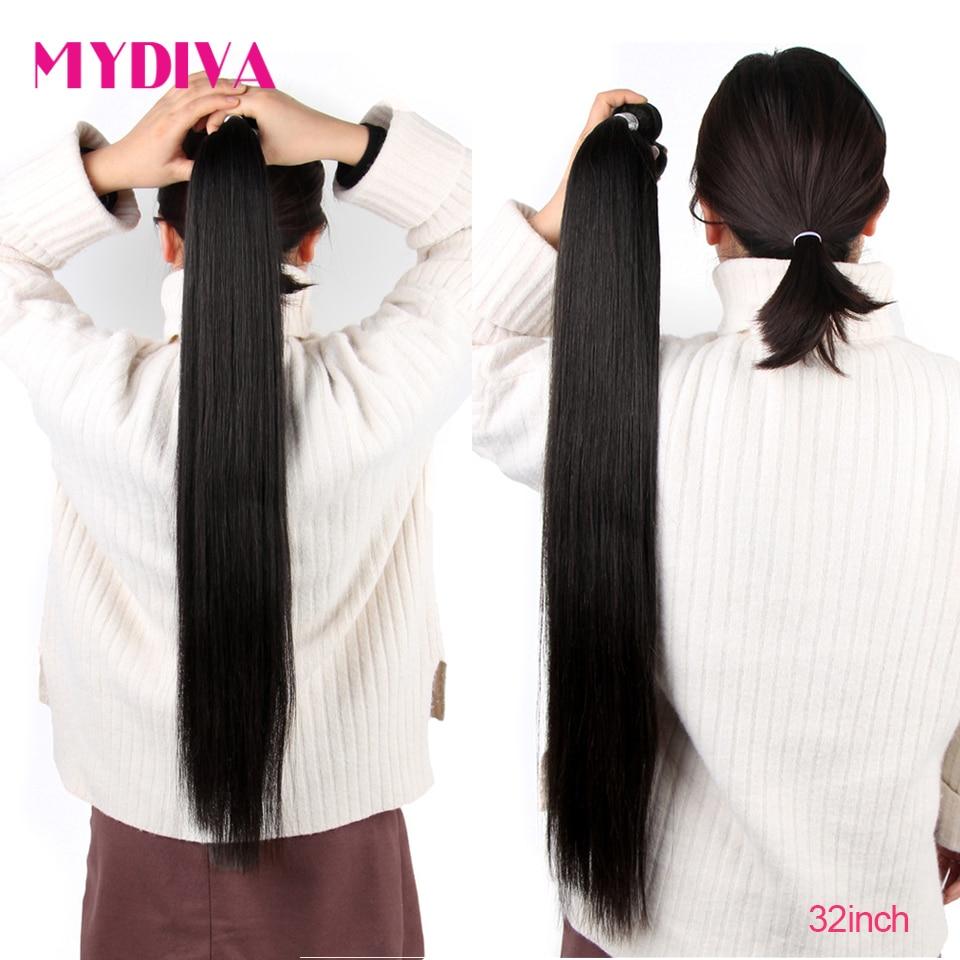 Extensiones de pelo ondulado brasileño, pelo humano liso, 30 paquetes de 32 pulgadas, extensiones de cabello ondulado no Remy, venta al por mayor, 10 paquetes