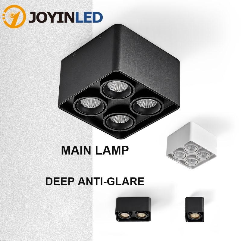 Поверхностного монтажа светодиодные светильники с антибликовым покрытием высокий Точечный светильник CRI Led прожекторы AC85-265V подходит для Г...