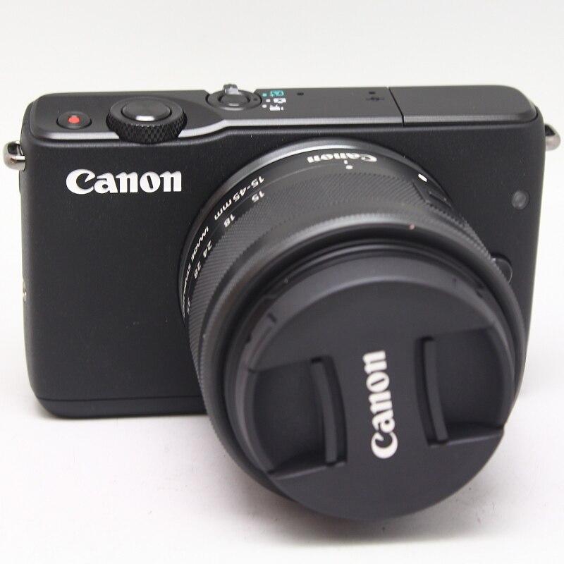 تستخدم ، كانون EOS M10 كاميرا مع 15-45 مللي متر عدسة تثبيت الصورة STM 18.0 ميجابيكسل CMOS (APS-C) الاستشعار