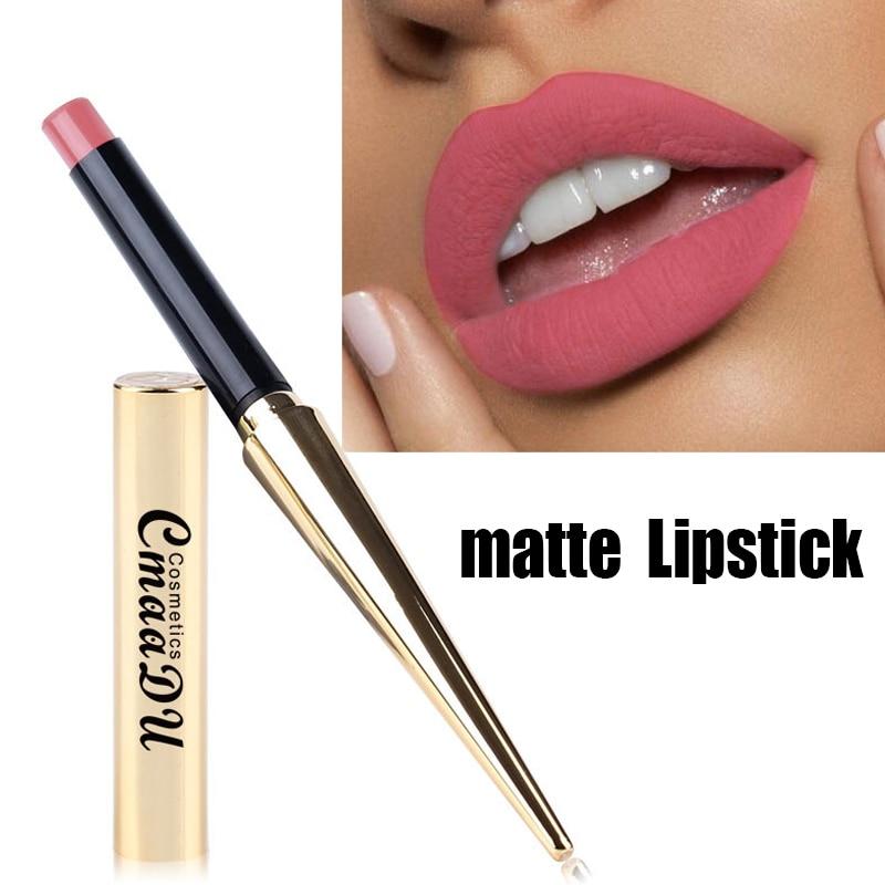 Velvet Matte Lipstick Waterproof  Long Lasting Non Stick Nude Lipsticks Sexy Red Lip Women Lip Makeup Beauty Cosmetics 8 Colors недорого