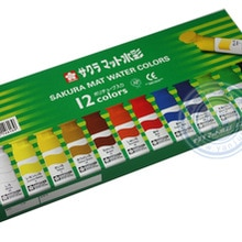 Sakura Japanese 12 Colors Transparent Watercolor Paint Illustration Paint Imported Comic Water Color