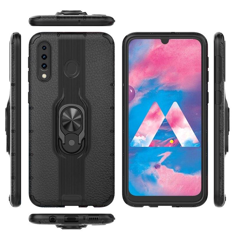 Anillo de dedo Alita soporte funda para Samsung Galaxy A50 A7 A40S 2018 M20 M30 Note 10 Plus S10