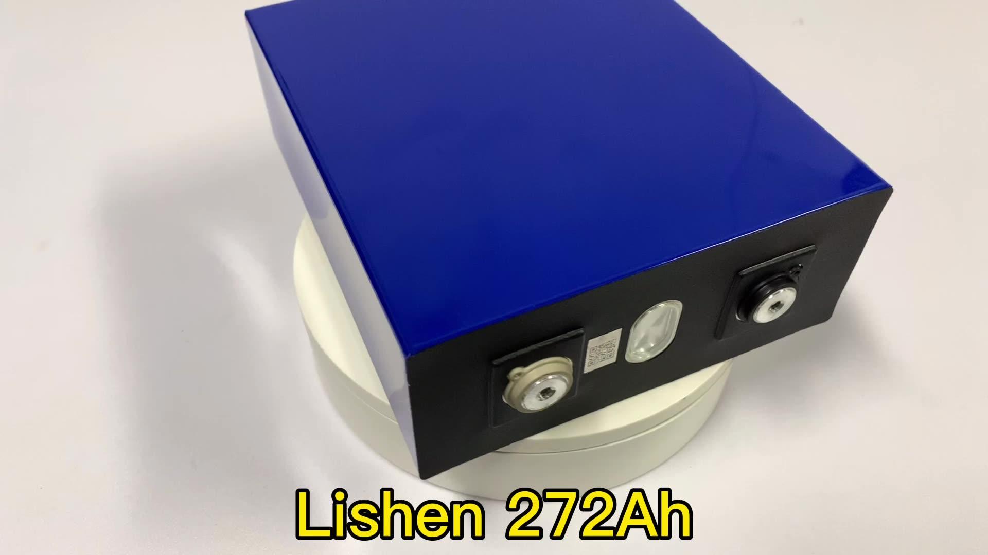 BASEN 1 قطعة Lishen 3.2 فولت 272Ah المنشورية Lifepo4 بطارية لتقوم بها بنفسك 12 فولت 24 فولت 48 فولت بطارية شحن الطاقة الشمسية