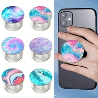 2021 marble pop up %d0%bf%d0%be%d0%bf%d1%81%d0%be%d0%ba%d0%b5%d1%82 finger grip ring phone holder pocket socket stand for mobile phone stand applicable to mobile phones