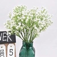 Fleurs artificielles Gypsophila pour mariage  fausses fleurs  decoration de mariee  Guide de route  bricolage  amenagement mural  decoration de maison