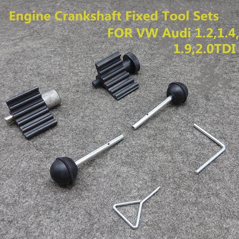FOR VW Audi 2.0 TDI 1.9 Diesel Engine Timing Crank Crankshaft Sprocket Locking Tool