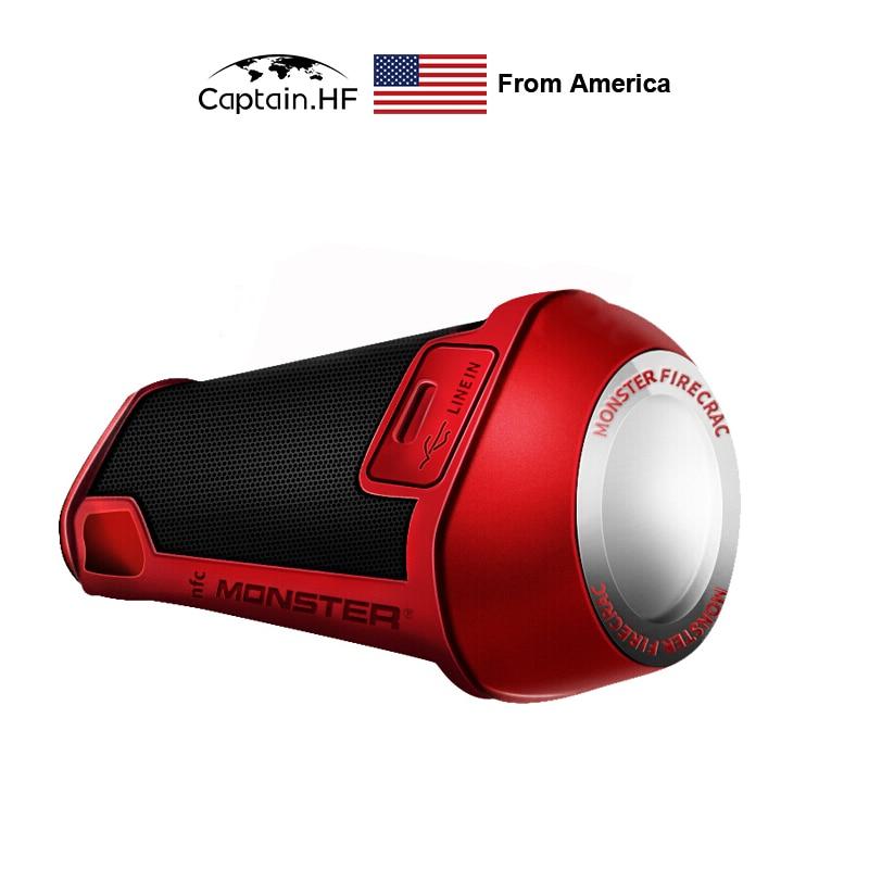 US Captain Monster Speaker Firecracker Portable Bluetooth Wireless Speaker for Outdoor, Camping Illumination Light Waterproof