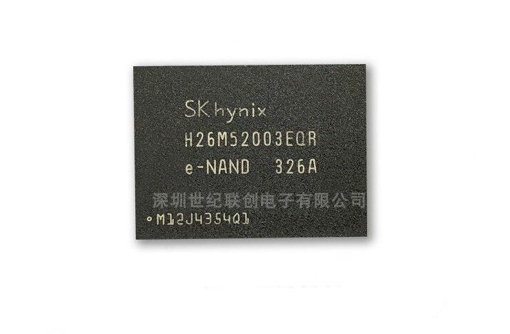 Mxy 100% جديد الأصلي H26M52003EQR بغا EMMC رقاقة الذاكرة H26M52003EQRE NAND