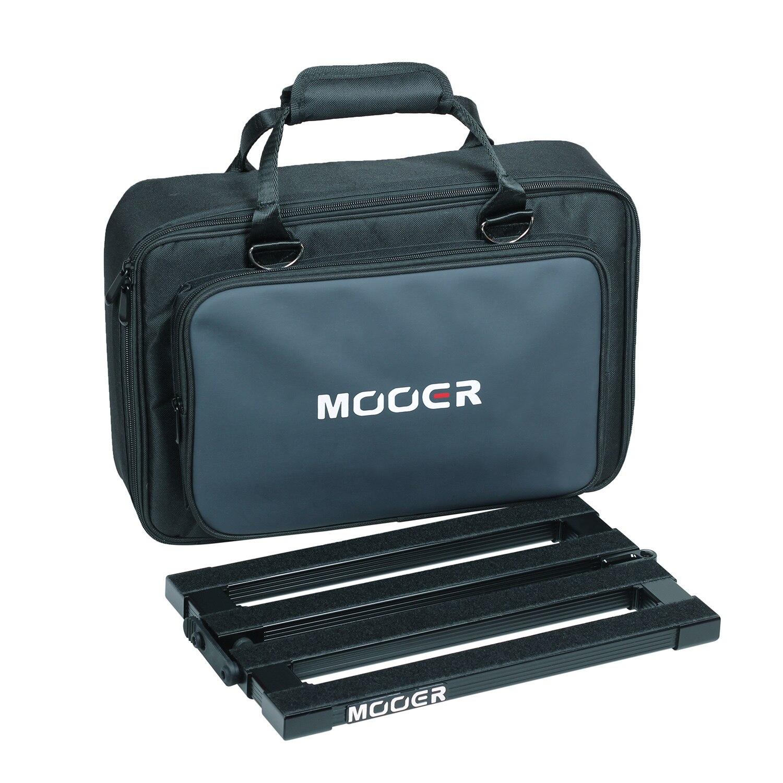 MOOER PB-10 portátil efecto guitarra Pedal tablero aleación de aluminio 180 ° diseño plegable de alta calidad