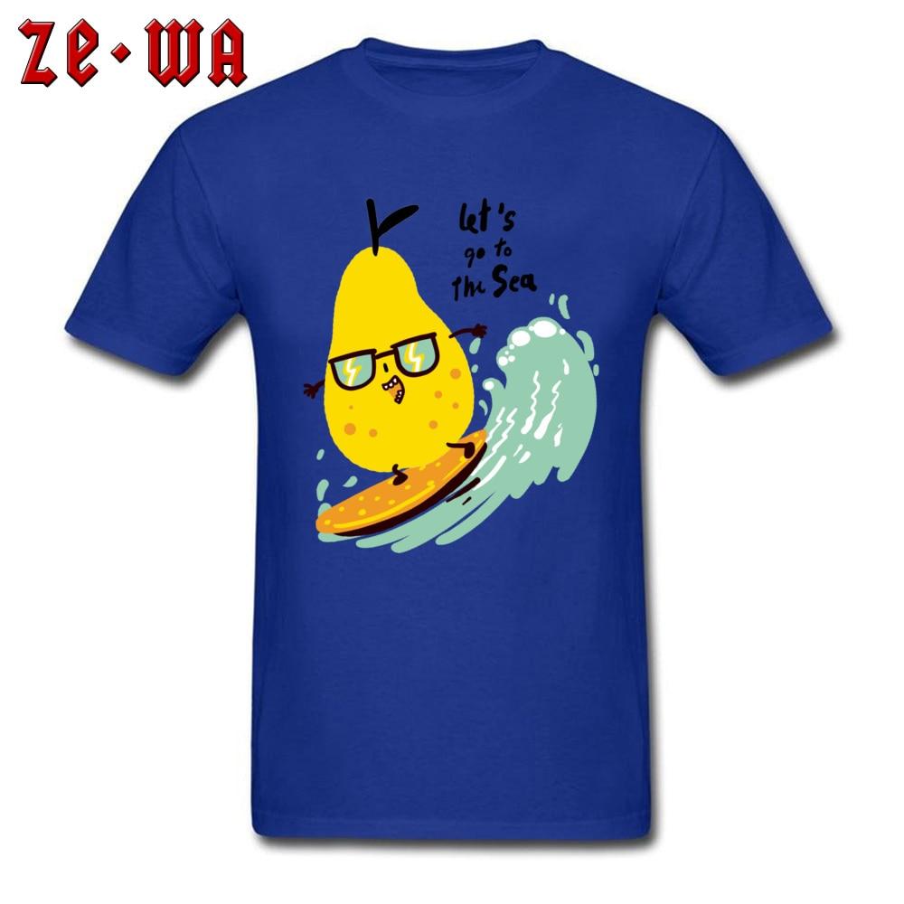 Camisetas divertidas Kawaii de surfista de pera Spindrift, ropa con mangas de verano, camiseta bonita de cervatillo feliz para niño, nuevo diseño de Anime