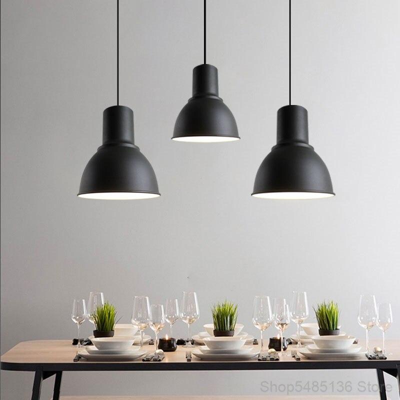 الشمال النمط الصناعي مصابيح متدلية لغرفة الطعام الإبداعية شخصية مقهى غرفة نوم منصة مشروبات غرفة المعيشة الإضاءة الزخرفية