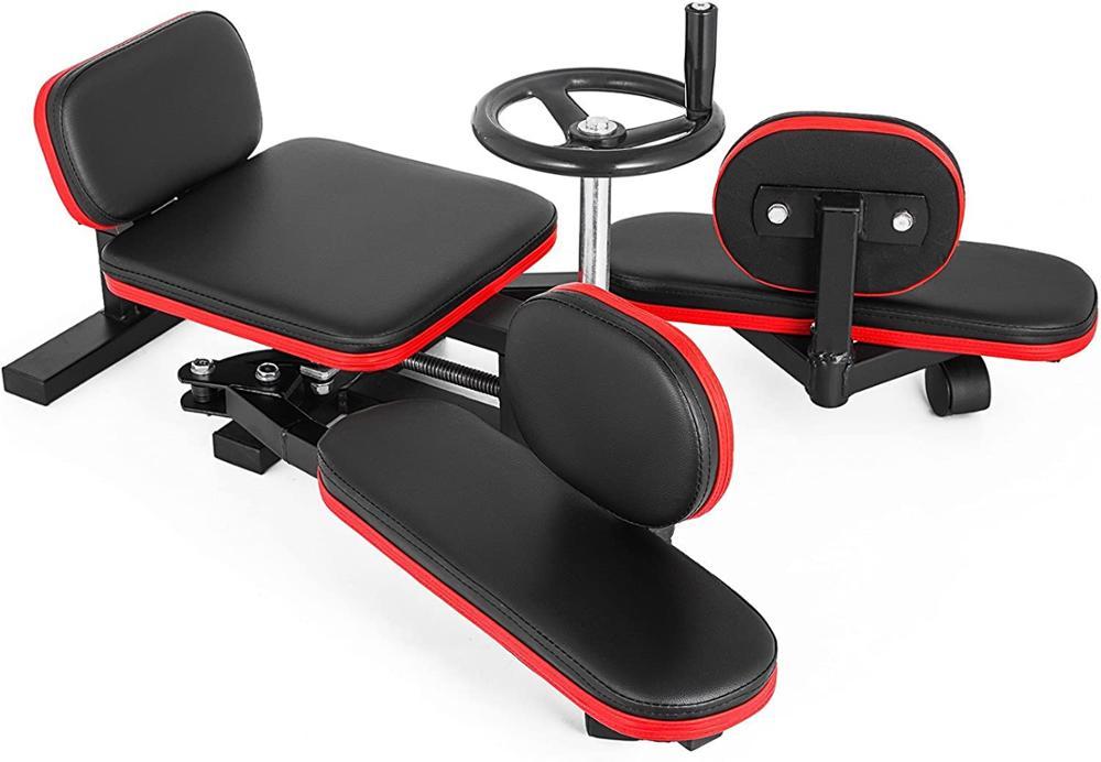 Leg Stretcher 330LBS Leg Stretch Machine Heavy Duty Steel Frame Training Fitness Equipment for Home Gym enlarge