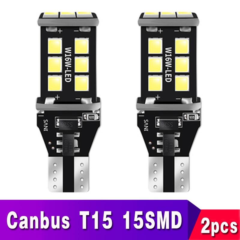 2x T15 T16 светодиодный Canbus 921 W16W лампы резервные фары заднего хода автомобиля для hyundai Tucson 2017 Creta Kona IX35 Solaris акцент I30 Elantra