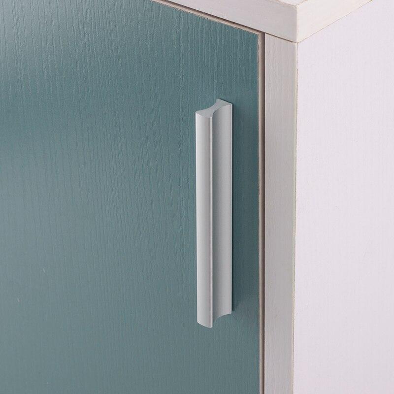 Tapete de alumínio e dois tons cc 64 96mm, tapete de cozinha puxar armário e outros móveis, gaveta ou porta alças