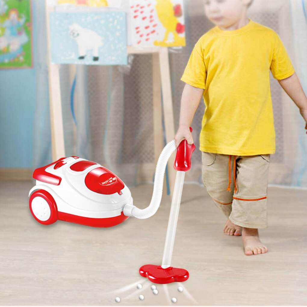 Household Appliances Play Kitchen Children Toys Coffee Machine Toaster Blender Vacuum Cleaner Cooker