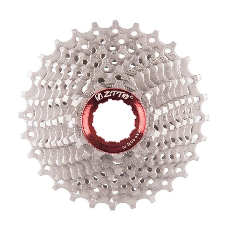 ZTTO Road Bicycle Cassette Freewheel 10 Speed Cassette 10s 11-28 T Bike Sprockets For Sunrace Shimano Sora