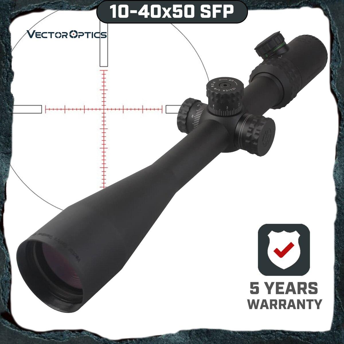 וקטור אופטיקה Gen 2 סנטינל 10-40x50 ירי צלף Riflescope היקף עם מואר MP Reticle עבור יקר Sight ציד