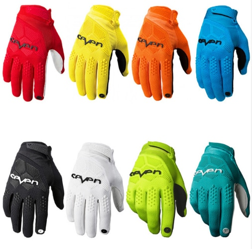Siete guantes de Motocross MX guantes de bicicleta de montaña guantes de bicicleta de tierra MTB guantes de Moto de carreras de Deportes de motocicleta