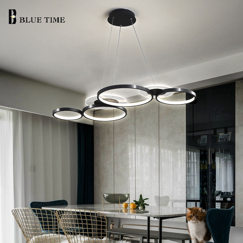 creative home fixtures modern led pendant lights for living room bedroom dining room originality led pendant lamps input ac 220v Modern Led Pendant Light 110v 220v Modern Home Pendant Lamp for Dining room Kitchen Living room L100CM Chandelier Pendant Lamps