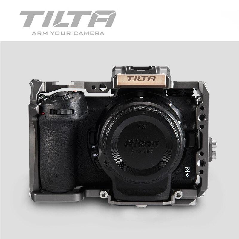 Caja completa de la plataforma Tilta DSLR para NIKON Z6 Z7 Cámara TA-T02-FCC-G TILTAING Rig Z6 Z7 accesorios vs smallrig