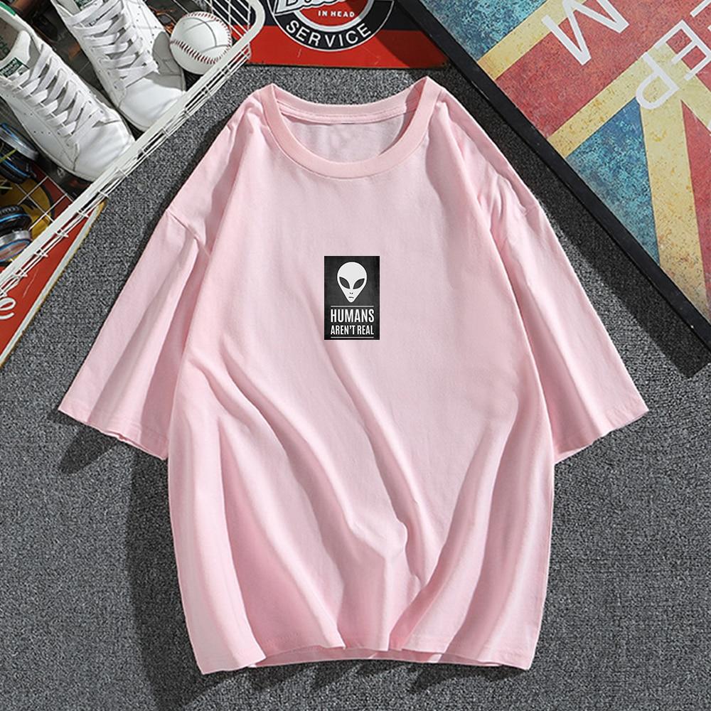 100% Cotton Short Sleeve Cool Womens Summer Horror Casual T Shirt Loose Womens Round Neck Women Tee Shirts Letter Skull Print