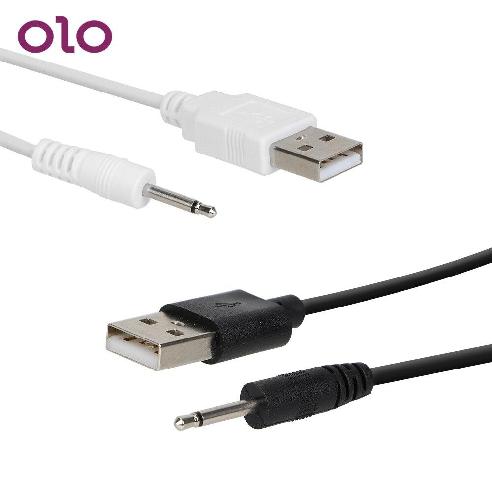 Секс-товары OLO, USB зарядное устройство, USB зарядный кабель для взрослых, игрушки, шнур с вибрацией постоянного тока
