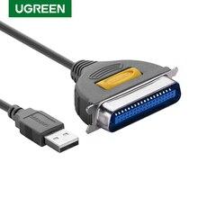 Ugreen USB vers DB36 câble dimprimante LPT Port femelle parallèle IEEE 1284 36Pin adaptateur dimpression convertisseur câble dimprimante USB vers DB36 CN36
