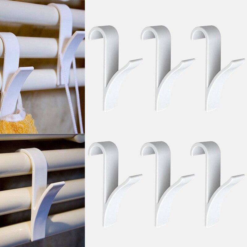6vnt baltos aukštos kokybės pakaba šildomam rankšluosčių - Organizavimas ir saugojimas namuose - Nuotrauka 3