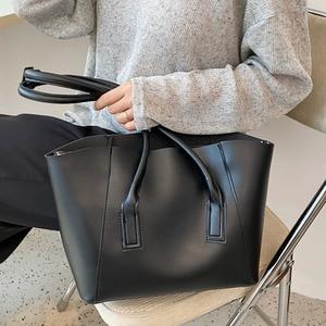 Simple Women's Shoulder Bag Fashion Texture Soft Leather Tote Bag High-capacity Trend Underarm Pack Brand Design Female Handbags
