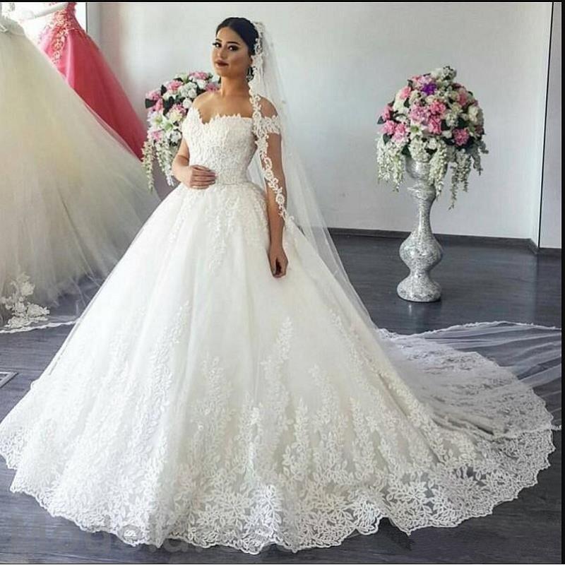 Novedad en vestido blanco novia, vestido de novia, vestidos 2020 de descuento...