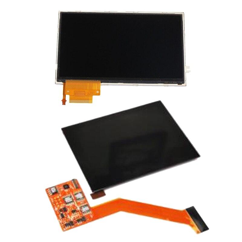 2 قطعة شاشة LCD عرض الخلفية استبدال لسوني PSP مع IPS LCD قطع غيار للشاشة عدة لنينتندو GBA SP