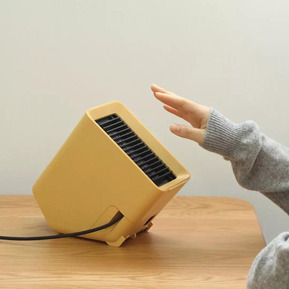 VH سخانات كهربائية مروحة كونترتوب غرفة منزلية صغيرة مفيد 3S تسخين سريع دفئا لفصل الشتاء PTC السيراميك التدفئة