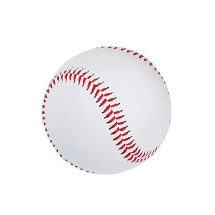 Бейсбольный мягкий кожаный мяч ручной работы, профессиональный бейсбольный Софтбол, однотонный, для учеников начальной и средней школы