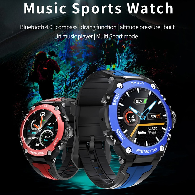 Music Sports Watch DK10 Smart Watch Women's Wristwatch Men's Watches Smartwatch Sleep Monitor Smart Bracelet Electronic Clock