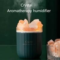 Humidificateur Portable daromatherapie en cristal USB sans fil  diffuseur dhuile essentielle et darome  humidificateur dair avec lampe dambiance pour la maison
