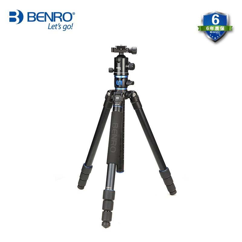 Benro GA268TB2 الألومنيوم مرنة ترايبود عدة المحمولة كاميرا رقمية Tripe الكرة فيديو رئيس حامل كاميرا مستقرة