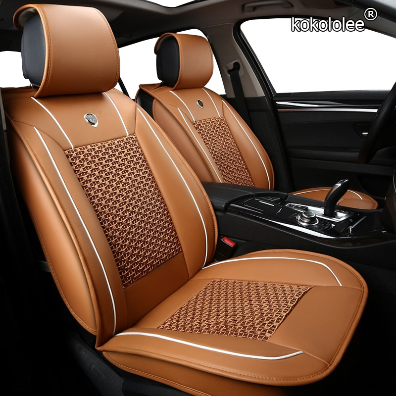 Kokololee 1 pçs capa de assento do carro para audi a3 8p 8l sportback q7 2007 q5 a4 b7 avant a6 c5 avant acessórios tampas de assento