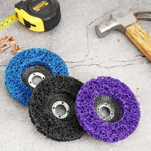 Poly Strip Disc Abrasive Wheel Paint Rust Remover Clean Grinding Wheels for Durable Angle Grinder Car Truck Motorcycles