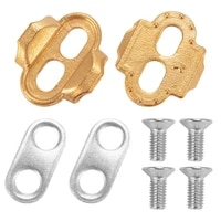 mtb bike bicycle lock pedal plate adapter converter clipless pedal plate bike bicycle mtb pedal spd shoe adapter cleats
