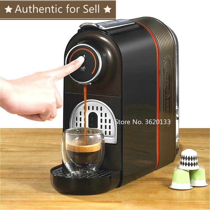 Auténtico 20Bar máquina de café italiano cápsula completamente automática caliente Mini máquina de bebidas de café con tanque de agua de 500ml 960W 220V