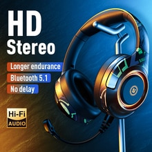 YC A2 Gaming Headset Studio V5.1 Wireless Earphone Stereo Over Ear Wired Headphone With Microphone F