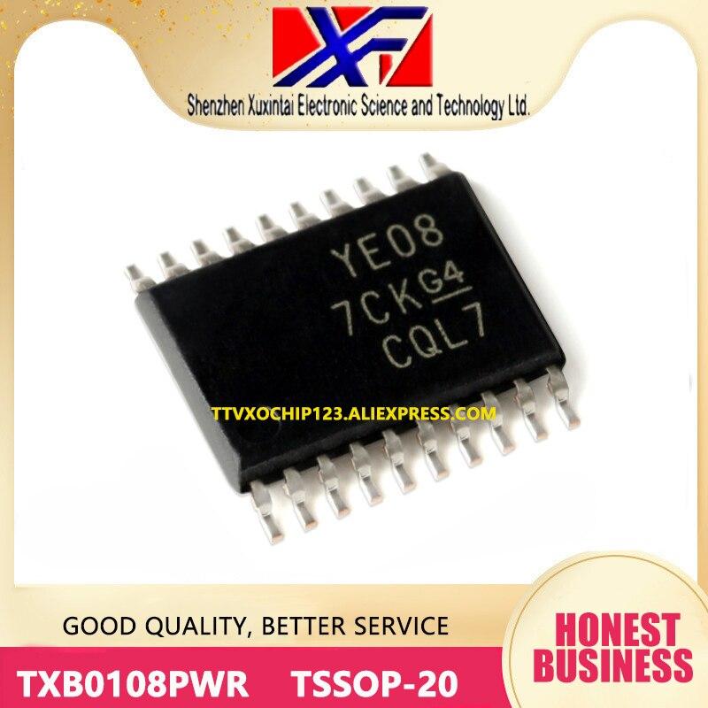 20 unids/lote TXB0108PWR TXB0108 IC TRNSLTR bidireccional TSSOP-20