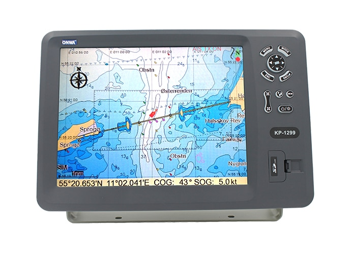 ONWA  KP-1299  12.1-inch GPS Chart Plotter (Expandable Features)