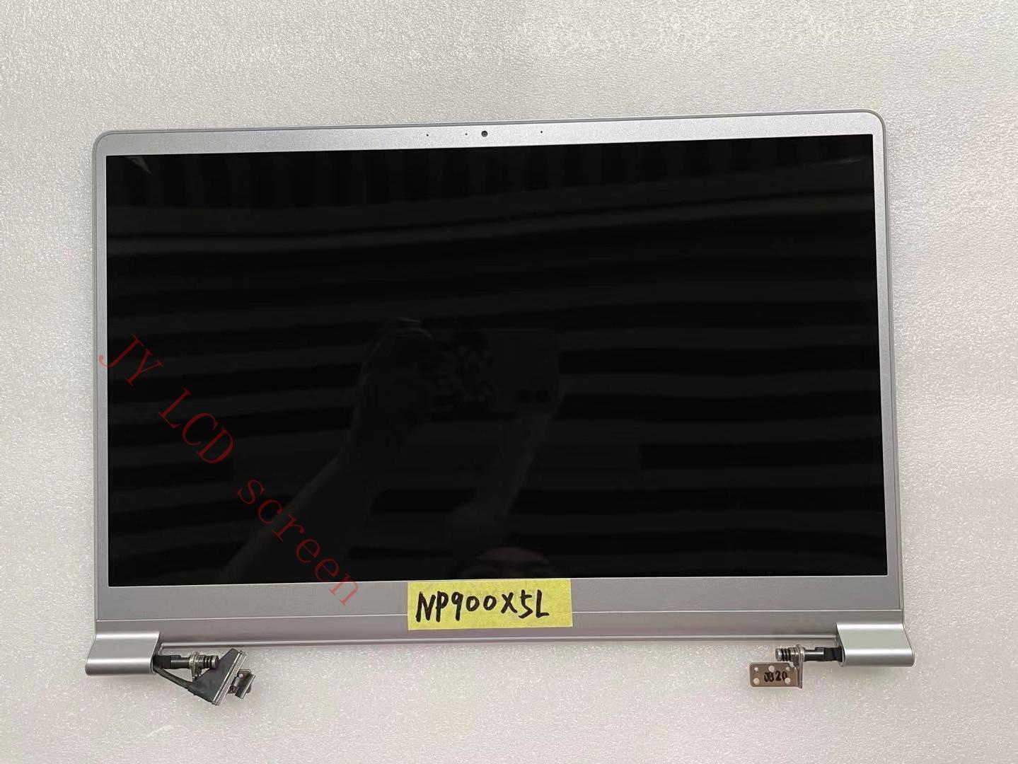 15.0 بوصة الأصلي لسامسونج NP900X5L NP900X5L NP900X5M NP900X5J شاشة LCD LED الجمعية الشاشة الفضة FHD العلوي نصف جزء