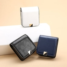 Mirror Lipstick Cosmetic Bag Makeup Mirror Bag Portable Large Capacity Mini Bag Beauty Box Toolbox Storage Box