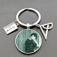 new text couple picture keychain alloy pendant gifts for couples